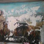 Restauro murales fontana vecchia, Satriano di Lucania