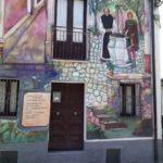 Murales sul giovane Caramuel, Sant'Angelo le Fratte