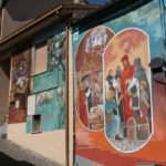 Vescovo Caramuel, murales a sant'Angelo le Fratte, Potenza
